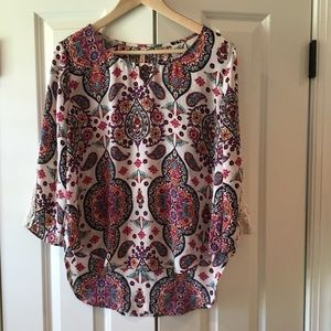 RED CAMEL BLOUSE